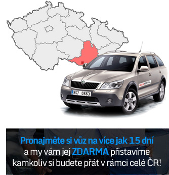 Autopůjčovna bez omezení km